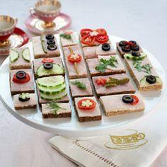 Princess Tea Party Tea Sandwiches