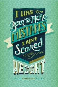 I Was Born To Make Mistakes by Courtney Blair