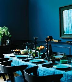 Edison Avenue: Color Trend: Indigo Blue