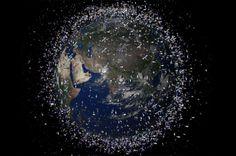 space debris. So sad.