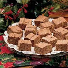 Sugar-Free Chocolate Fudge Just use approved Sweetener