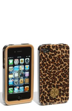 leopard tory burch iphone case for the iphone i wish i had