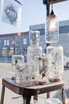 How To Make Mason Jar Snow Globes