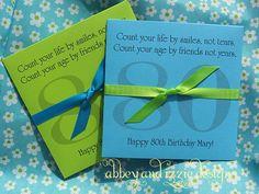 Fun idea for Mom's birthday!