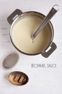 Bechamel sauce for croque madame
