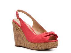 Coral Wedge sandal