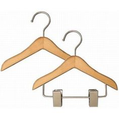 Doll Clothes Hangers $0.65 top hanger only, .90 with pant/skirt clip from Hangers
