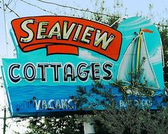 Seaview Cottages and photos of Roadside America and Route 66