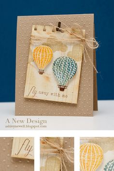 Love this stamp set and card!