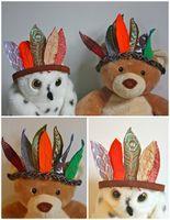 Fabric Feather Headdress... - Buzzmills
