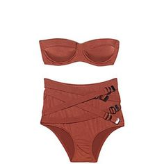 high waist bikini by suzette