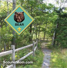 Cub Scout Bear Den Meeting Plans: Family Outdoor Adventure