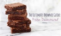 The ultimate Brownie Recipe Guide-Make one brownie recipe seven ways--and get seven deliciously different results.
