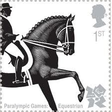 Paralympic Games Equestrian Stamp