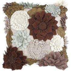 Rhonna DESIGNS: DIY Fall Felt Flowers