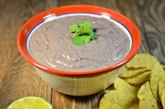 This recipe originally started out to be a hummus recipe that I was going to take to work for a Mexican potluck but I was out of tahini so it became a black bean dip. Even though I do love black bean hummus, this one was great too. And you know how I love recipes …