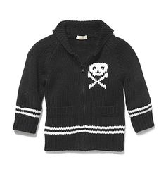 Kids Toddler Boy Skull Sweater Low-res  This is why I want a boy. Such cute clothes!
