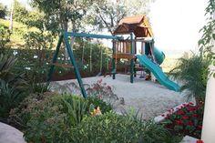 Landscaped play area - traditional - landscape - Scott Cohen
