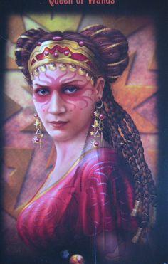 Tarot Card The Goddess