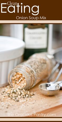 Clean Eating Onion Soup Mix #cleaneating #eatclean #cleaneatingrecipes