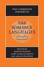 Cambridge history of the Romance languages