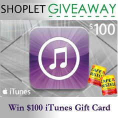 Win a $100 iTunes Gift Card! | Shoplet Blog