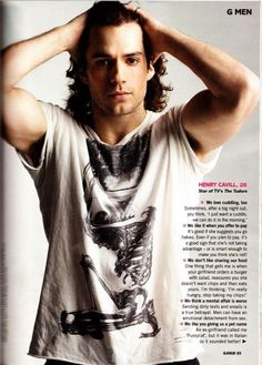 Henry Cavill.... Perfection... simple perfection