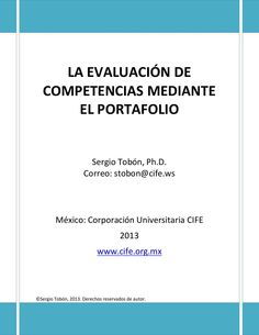 La evaluacion de competencias mediante el portafolio