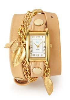 wrist wear | garden charm wrap watch {ideeli}