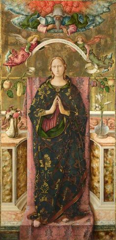 Carlo Crivelli, The Immaculate Conception, 1492