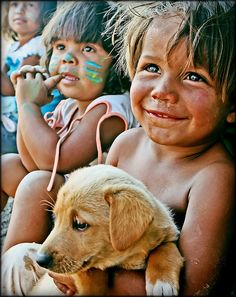 Childhood in the favelas of Brazil.