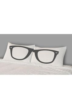 Glasses Pillow Cases.
