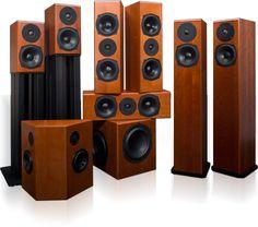 Totem Acoustic - Surround Speakers. surround speaker, totem acoust, totem speakers