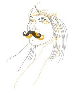 mrrr, moustache moustache by ReryRery