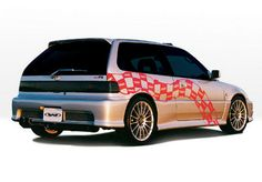 Wings West Racing Series Body Kit - Urethane FULL KIT for 88-91 Honda Civic at Andy's Auto Sport
