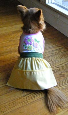 112 of the best Free Dog Clothes Patterns & Tutorials on the web!