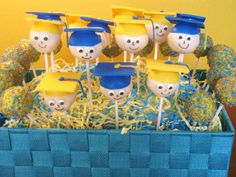 Character Graduation Cake Pops