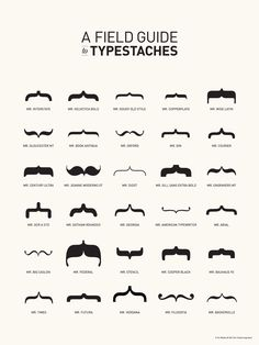 Typestaches!