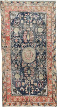 love the colors in this vintage oriental rug