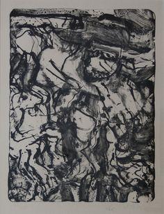 Title: The Preacher  Artist: Willem de Kooning (1904-1997, American/Dutch)  Year: 1971  Materials/Techniques: Lithograph