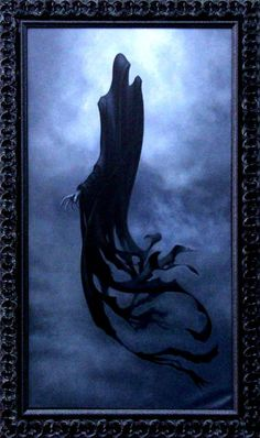 ✯ Dementor 1... Oil on Linen ..By Tony Lombardo✯