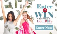 Holiday Central $$ Enter to Win Sweepstakes!