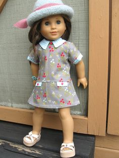 American Girl Doll Clothes Spring Pretty 3pc by 123MULBERRYSTREET, $22.00