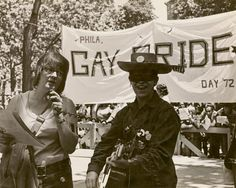 Philadelphia's first Gay Pride rally and march, June 11, 1972
