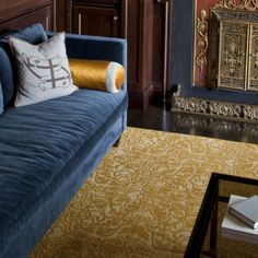 """for the upstairs bathroom FLOR """"road to damasks"""" in gold $13.99 per tile"""