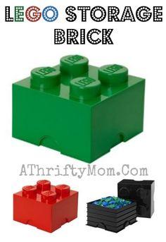 lego storage brick, #LegoParty, #legos, Lego Gift Ideas