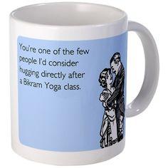 Bikram Yoga Class Mug bikram yoga, yoga class, mugs
