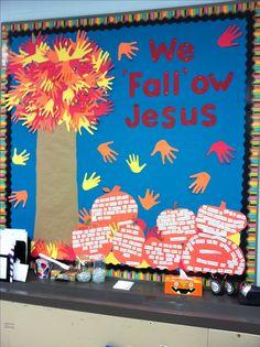Religious Fall Bulletin Board