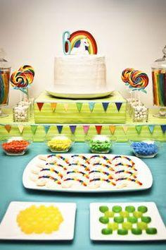 Unicorn Rainbow Birthday Party- lots of fun ideas