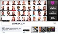 After a few discussions, we decided it would be our best approach to show the faces of TKG (on Facebook, mind you). Here's our take on our new Timeline Cover Photo.  Notice that the applications are focused on one common theme -- Content Marketing.  We've implemented an email sign up form, as well as my blog and the TKG Whole Ball of Web blog.  The soapboxes on which we share helpful tips and tricks.